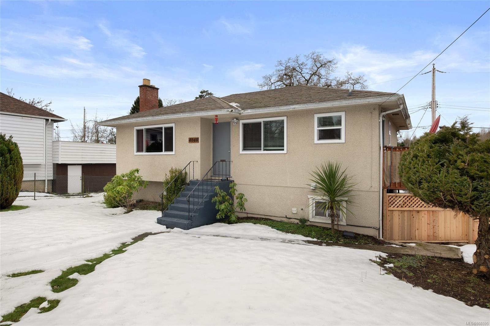 Main Photo: 4048 Cedar Hill Cross Rd in : SE Lake Hill House for sale (Saanich East)  : MLS®# 866595