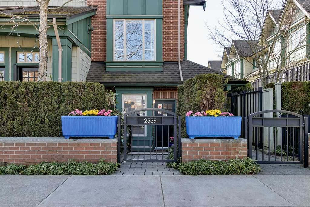 """Main Photo: 2539 EAST Mall in Vancouver: University VW Townhouse for sale in """"LOGAN LANE"""" (Vancouver West)  : MLS®# R2447292"""