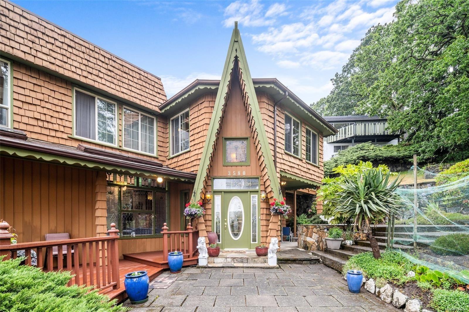 Main Photo: 3580 Cedar Hill Rd in : SE Cedar Hill House for sale (Saanich East)  : MLS®# 884093