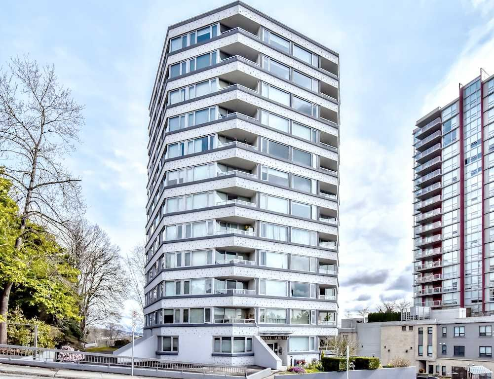 "Main Photo: 601 31 ELLIOT Street in New Westminster: Downtown NW Condo for sale in ""ROYAL ALBERT TOWERS"" : MLS®# R2529707"