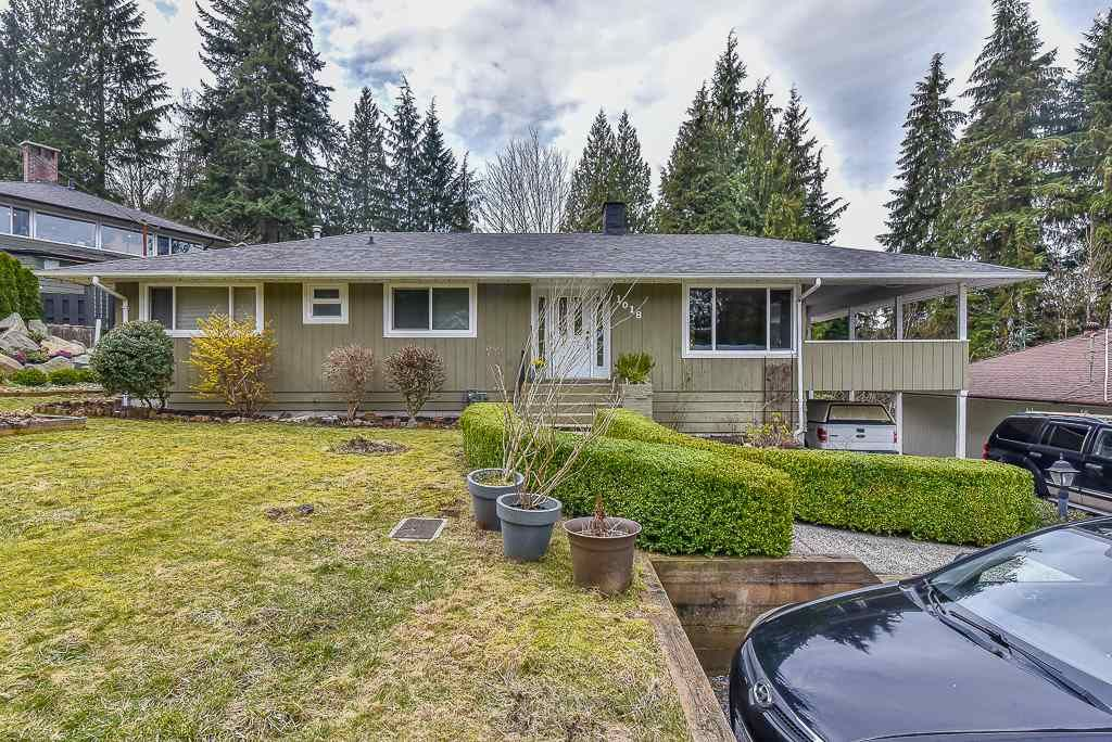 Main Photo: 1018 GATENSBURY ROAD in Port Moody: Port Moody Centre House for sale : MLS®# R2546995
