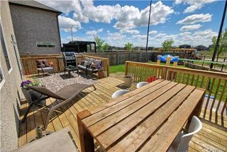 Photo 18: 6 Red Lily Road in Winnipeg: Sage Creek Residential for sale (2K)  : MLS®# 1713010