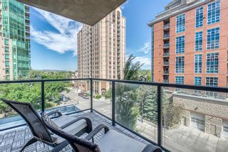Photo 12: 502 735 2 Avenue SW in Calgary: Eau Claire Apartment for sale : MLS®# A1121371