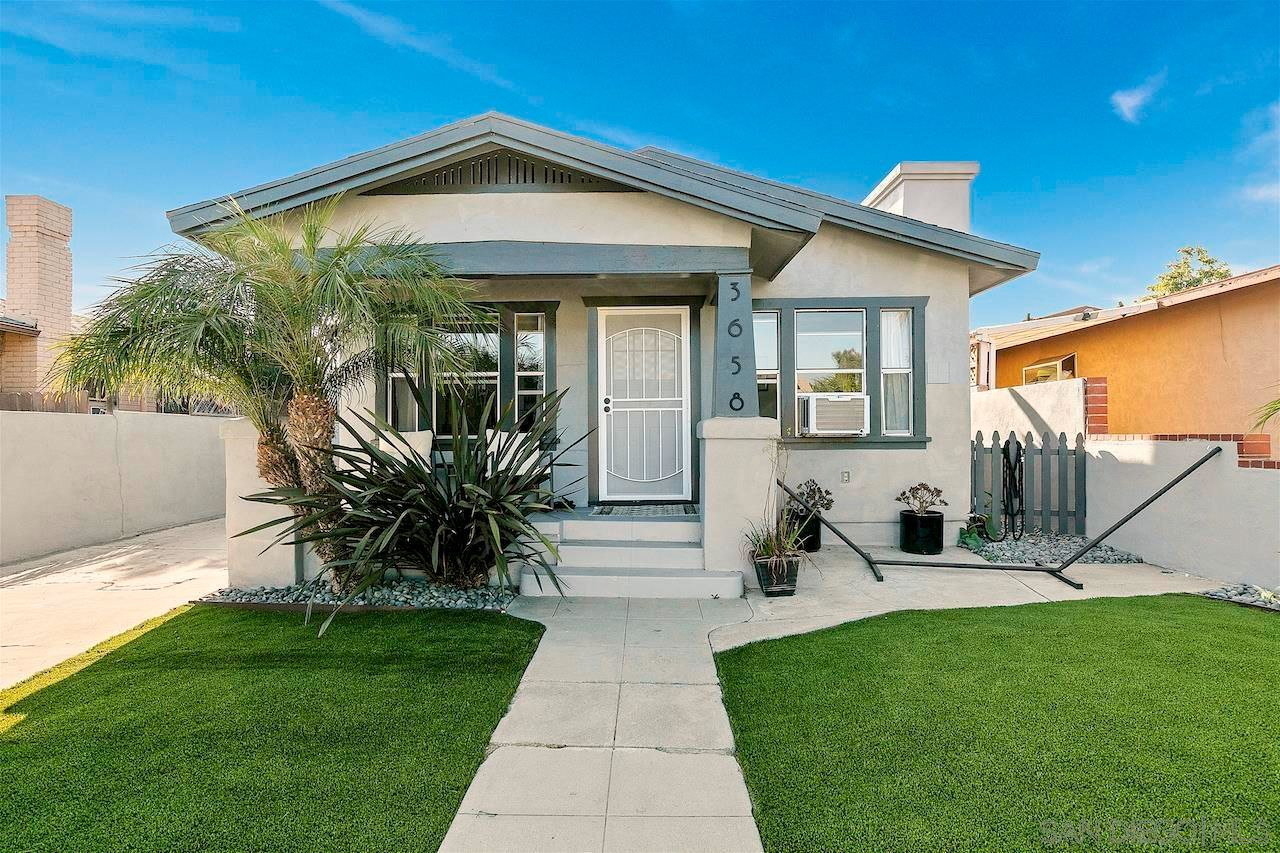 Main Photo: CITY HEIGHTS Property for sale: 3658-3660 Cherokee Ave in San Diego