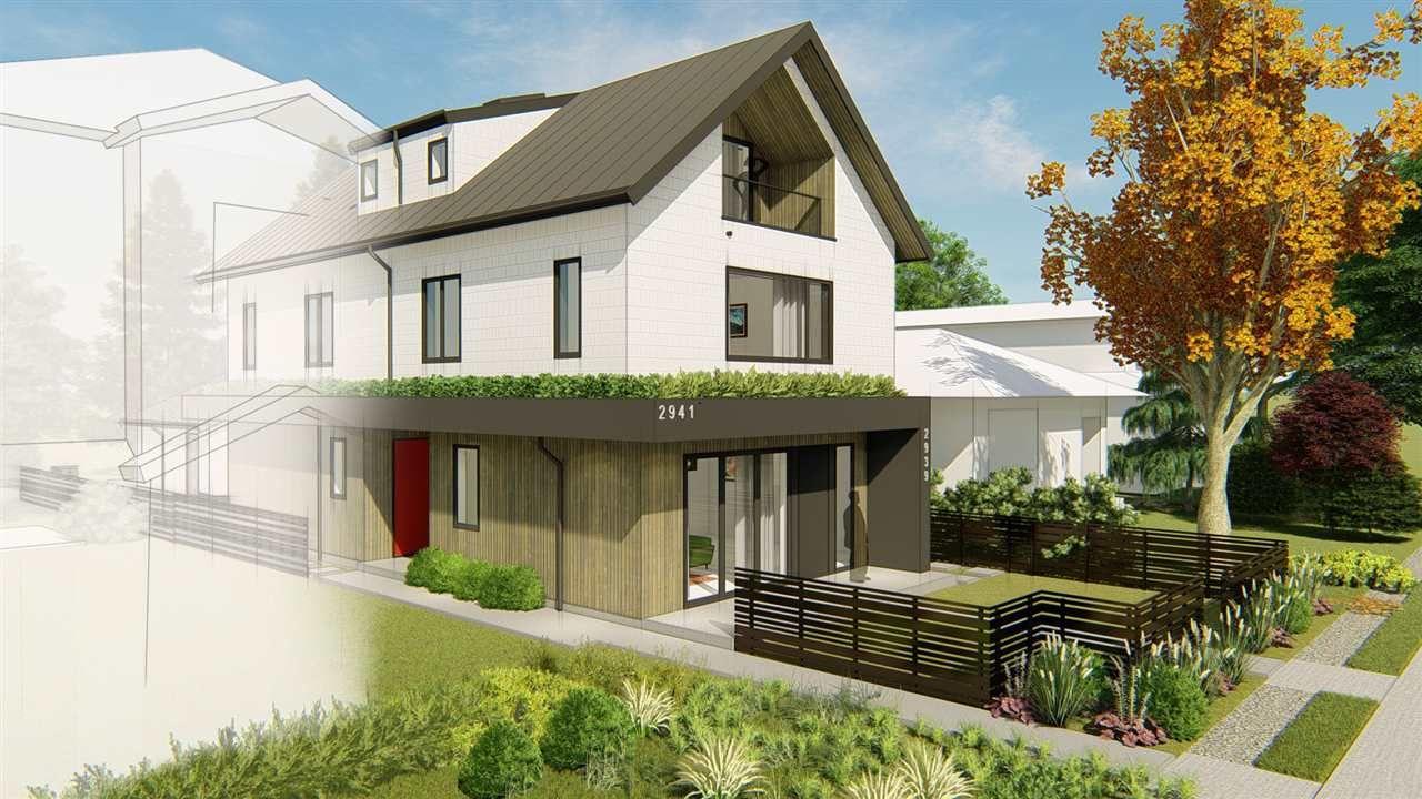 Main Photo: 2941 W 15TH AVENUE in Vancouver: Kitsilano 1/2 Duplex for sale (Vancouver West)  : MLS®# R2450614
