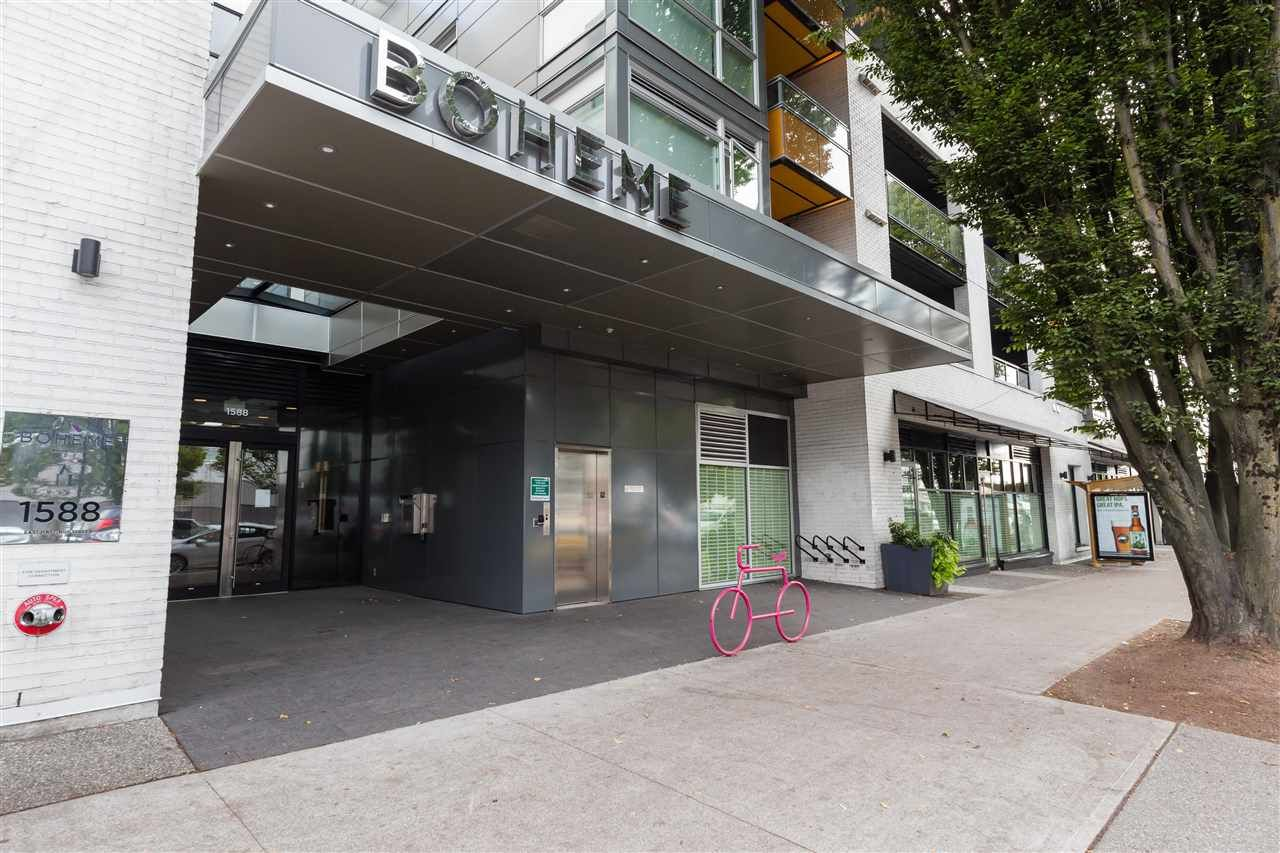 """Main Photo: 214 1588 E HASTINGS Street in Vancouver: Hastings Condo for sale in """"BOHEME"""" (Vancouver East)  : MLS®# R2585421"""