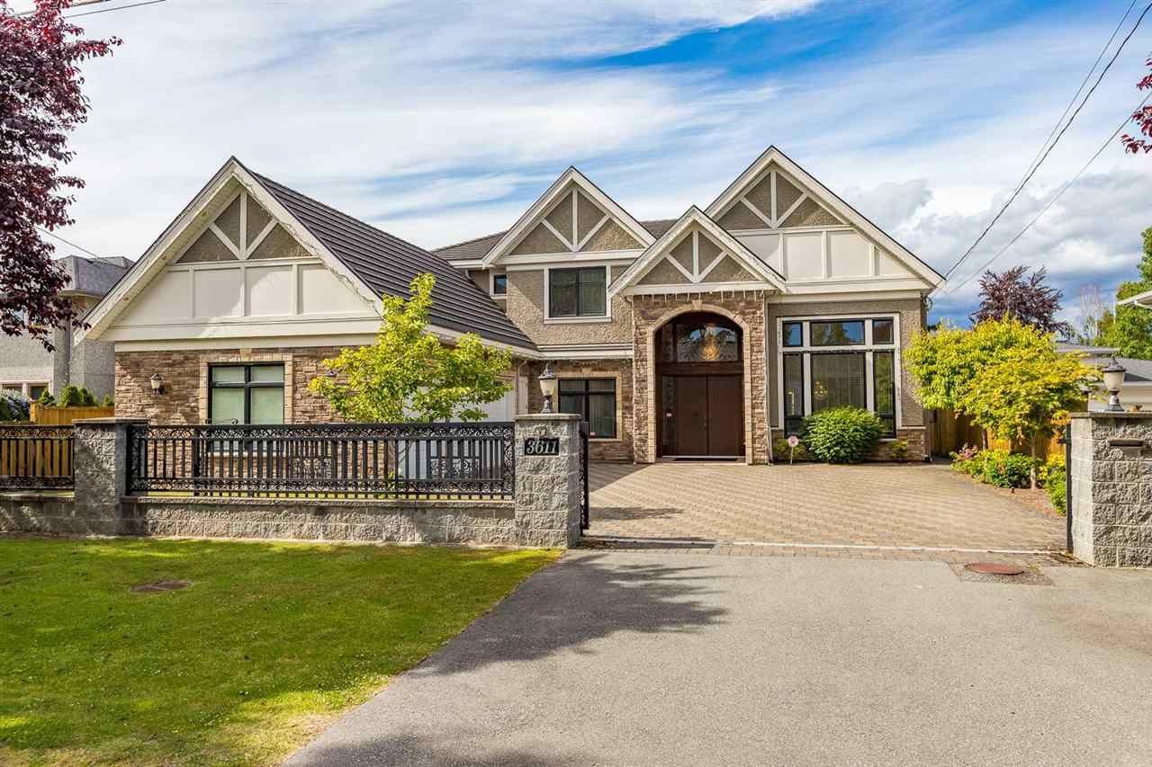 Main Photo: 3611 ROSAMOND Avenue in Richmond: Seafair House for sale : MLS®# R2591121