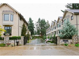 """Photo 1: 632 2580 LANGDON Street in Abbotsford: Abbotsford West Townhouse for sale in """"The Brownstones on the Park"""" : MLS®# F1424692"""