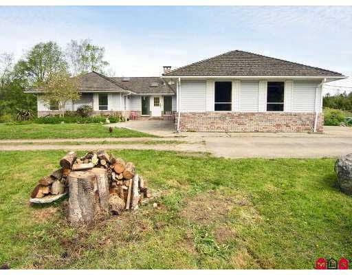 Main Photo: 23025 8TH AVENUE in : Campbell Valley House for sale : MLS®# F2833088