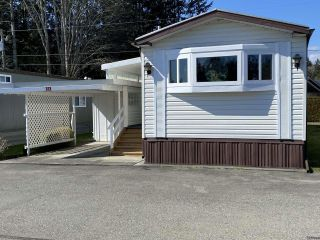 Photo 1: 58 1240 Wilkinson Rd in COMOX: CV Comox Peninsula Manufactured Home for sale (Comox Valley)  : MLS®# 837292