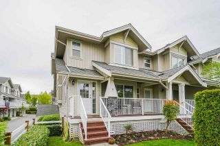 """Photo 1: 8 6568 193B Street in Surrey: Clayton Townhouse for sale in """"Belmont at Southlands"""" (Cloverdale)  : MLS®# R2573529"""