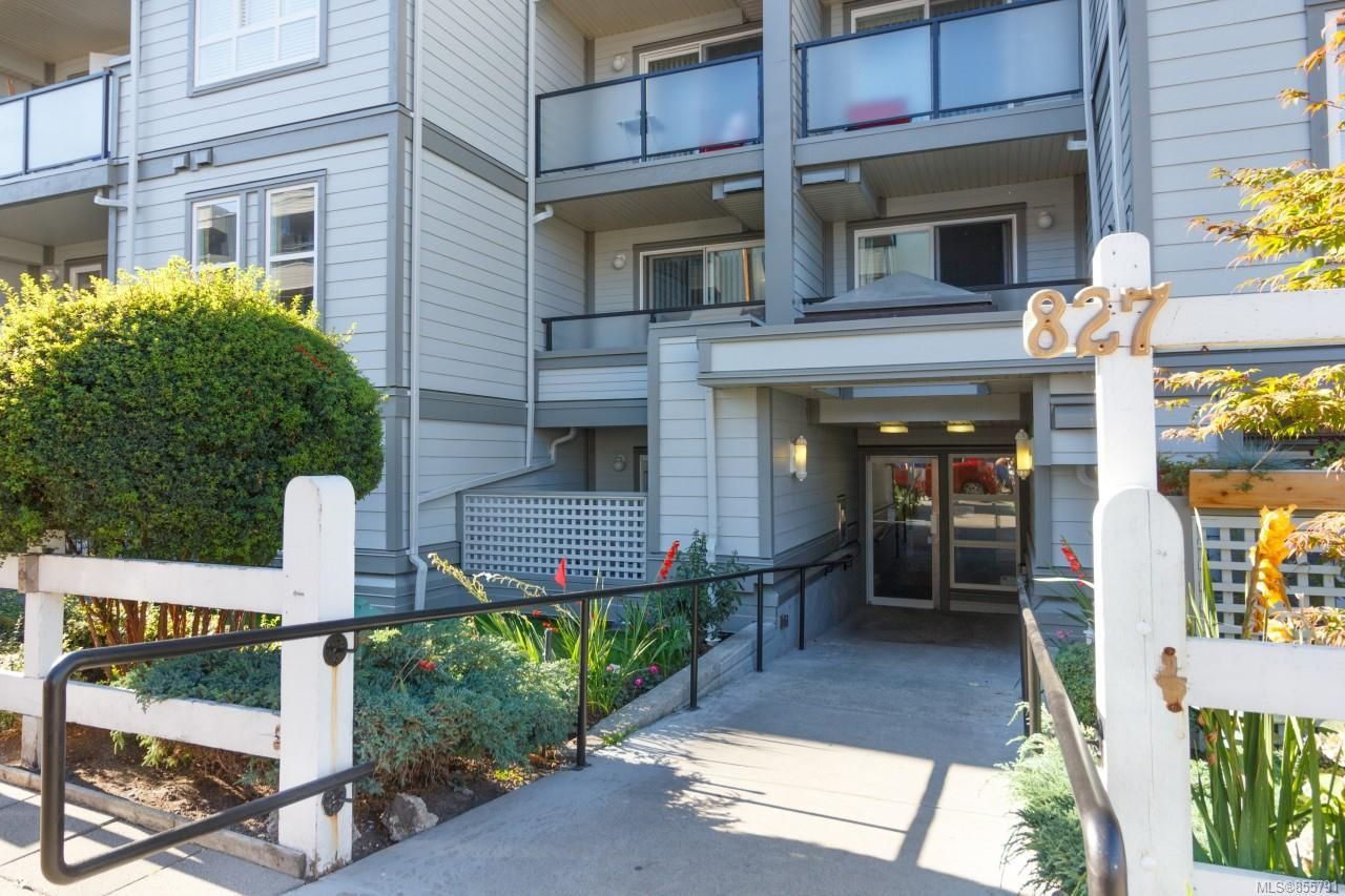 Main Photo: 416 827 North Park St in : Vi Central Park Condo for sale (Victoria)  : MLS®# 855791