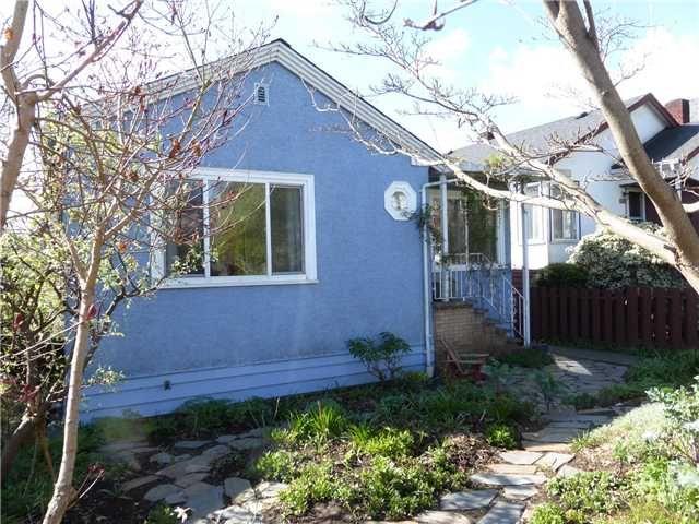 Main Photo: 2662 ADANAC Street in Vancouver: Renfrew VE House for sale (Vancouver East)  : MLS®# V1113849