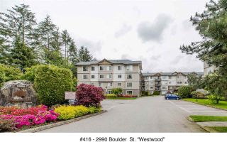 """Photo 1: 416 2990 BOULDER Street in Abbotsford: Abbotsford West Condo for sale in """"WESTWOOD"""" : MLS®# R2167496"""