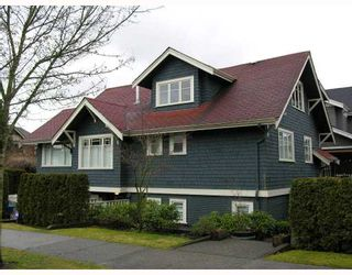 Photo 1: 3018 COLUMBIA Street in Vancouver: Mount Pleasant VW Townhouse for sale (Vancouver West)  : MLS®# V682762
