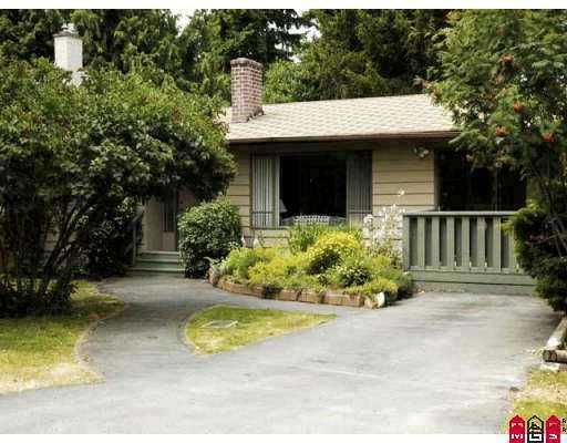 Main Photo: 1557 128A Street in White Rock: Crescent Bch Ocean Pk. House for sale (South Surrey White Rock)  : MLS®# F2702505