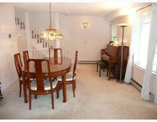 Photo 5: 14 8120 GENERAL CURRIE Road in Richmond: Brighouse South Townhouse for sale : MLS®# V711088