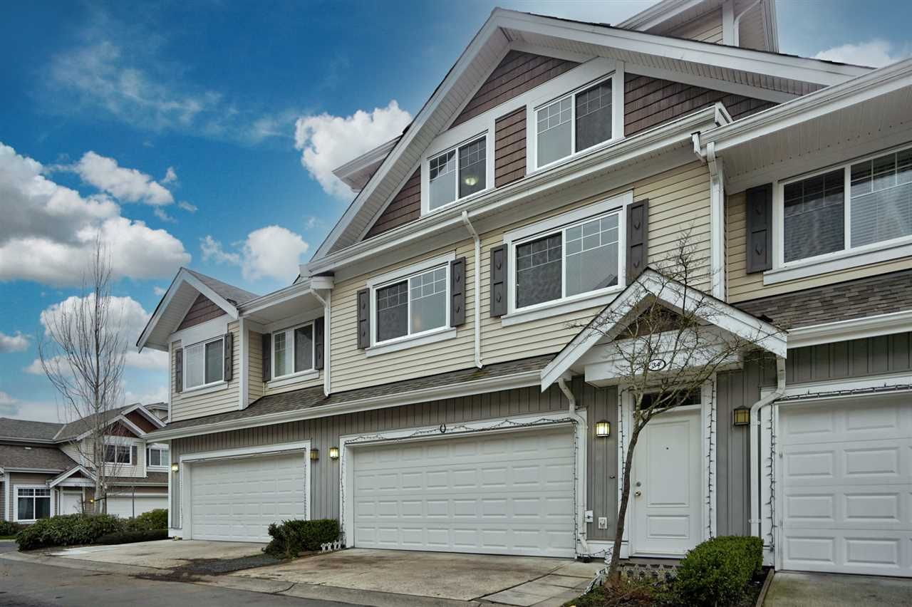 """Main Photo: 34 30748 CARDINAL Avenue in Abbotsford: Abbotsford West Townhouse for sale in """"Luna Homes"""" : MLS®# R2531916"""