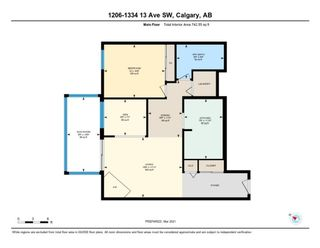 Photo 24: 1206P 1334 13 Avenue SW in Calgary: Beltline Apartment for sale : MLS®# A1075393