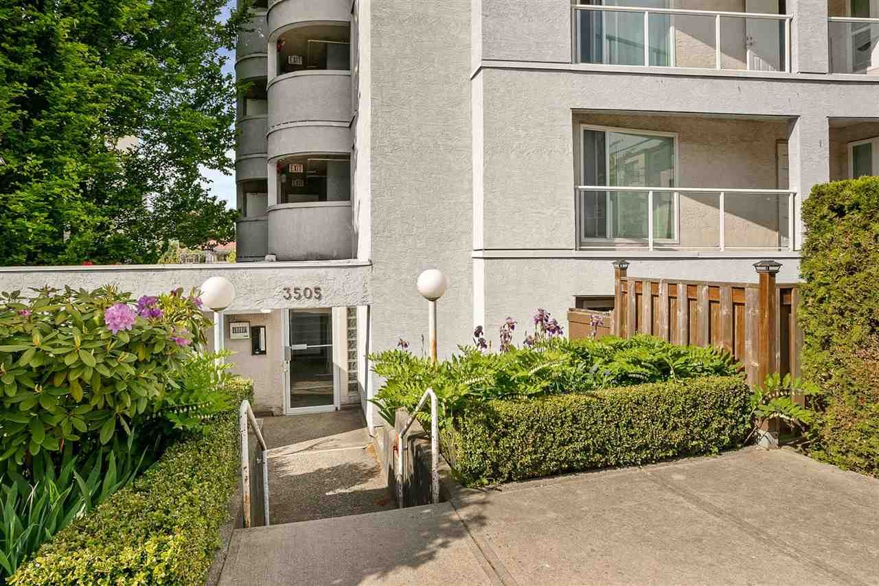 """Main Photo: 101 3505 W BROADWAY in Vancouver: Kitsilano Condo for sale in """"COLLINGWOOD PLACE"""" (Vancouver West)  : MLS®# R2579315"""