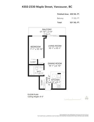"""Photo 15: 202 2330 MAPLE Street in Vancouver: Kitsilano Condo for sale in """"Maple Gardens"""" (Vancouver West)  : MLS®# R2575391"""