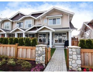 """Photo 1: 5 20460 66TH Avenue in Langley: Willoughby Heights Townhouse for sale in """"Willow Edge"""" : MLS®# F2809393"""