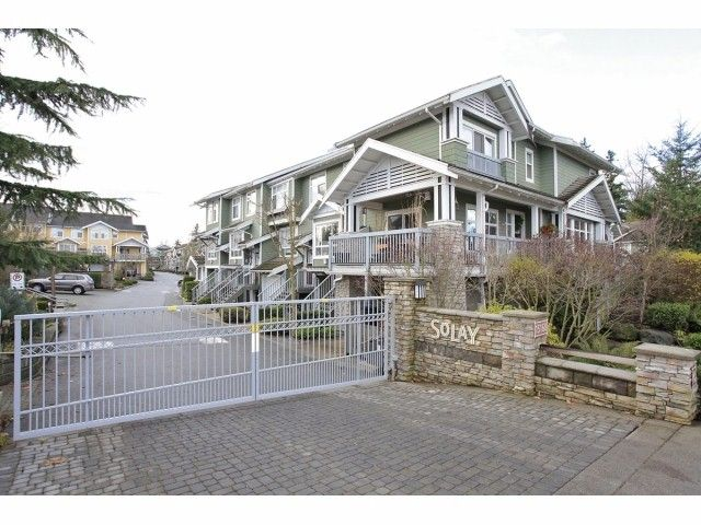 """Main Photo: 41 15168 36TH Avenue in Surrey: Morgan Creek Townhouse for sale in """"SOLAY"""" (South Surrey White Rock)  : MLS®# F1228462"""
