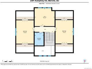 Photo 62: 2391 Humphrey Rd in : CV Merville Black Creek House for sale (Comox Valley)  : MLS®# 875183