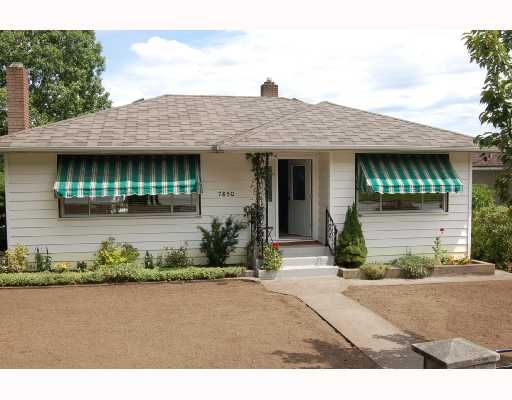 """Main Photo: 7850 CARIBOO Road in Burnaby: The Crest House for sale in """"THE CREST"""" (Burnaby East)  : MLS®# V656597"""