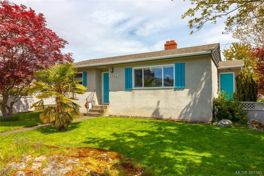 Main Photo: 2921 Gosworth Rd in VICTORIA: Vi Oaklands House for sale (Victoria)  : MLS®# 786626