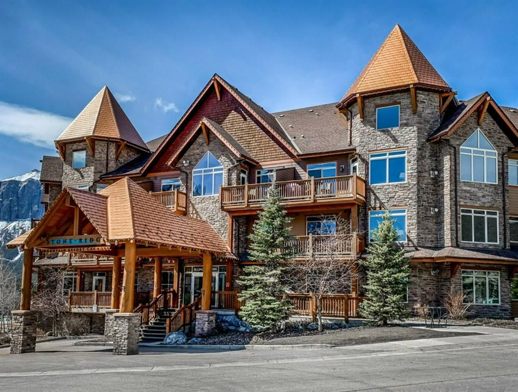 Main Photo: 304 30 Lincoln Park: Canmore Apartment for sale : MLS®# A1082240