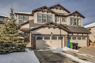 Main Photo: 24 SAGE HILL Point NW in Calgary: Sage Hill Semi Detached for sale : MLS®# A1071156