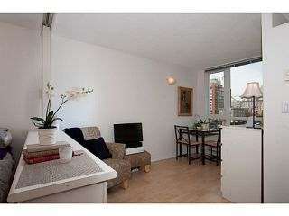 """Photo 6: 410 1188 RICHARDS Street in Vancouver: Yaletown Condo for sale in """"Park Plaza"""" (Vancouver West)  : MLS®# V1055368"""