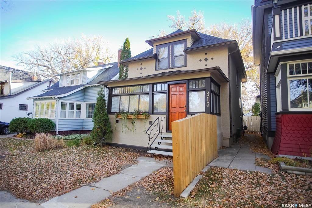 Main Photo: 313 29th Street West in Saskatoon: Caswell Hill Residential for sale : MLS®# SK872106