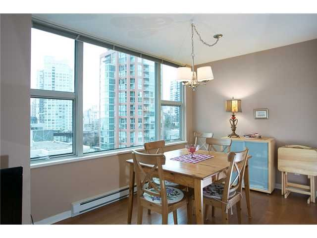 Photo 4: Photos: 1210 1500 HORNBY Street in Vancouver: Yaletown Condo for sale (Vancouver West)  : MLS®# V993078