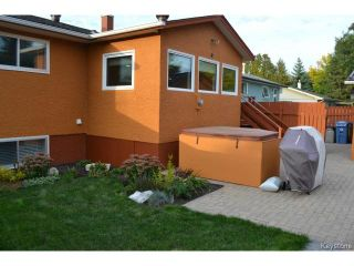 Photo 19: 10 Weeping Willow Drive in WINNIPEG: St Vital Residential for sale (South East Winnipeg)  : MLS®# 1321233