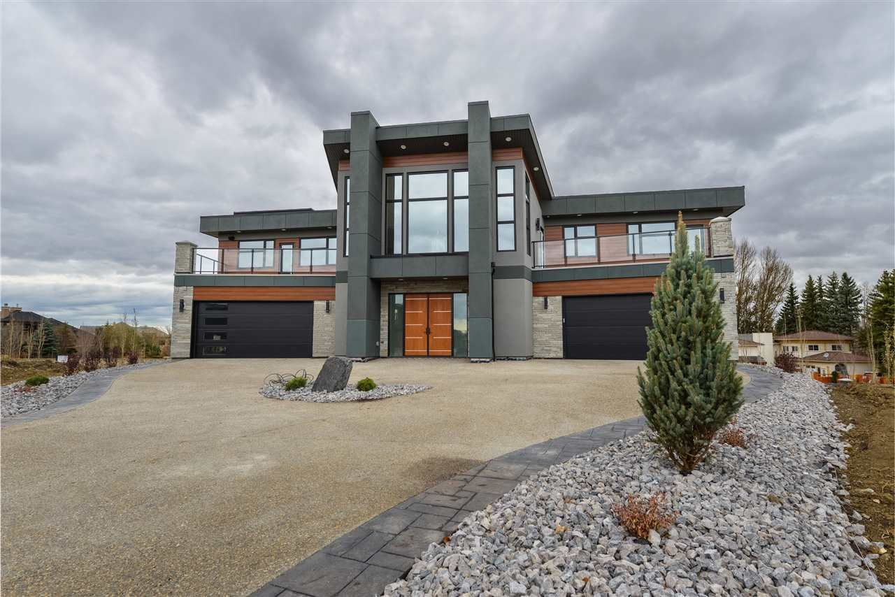 Main Photo: 4914 WOOLSEY Court in Edmonton: Zone 56 House for sale : MLS®# E4227443