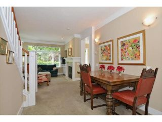 """Photo 4: 121 3188 W 41ST Avenue in Vancouver: Kerrisdale Townhouse for sale in """"THE LANESBOROUGH"""" (Vancouver West)  : MLS®# V1123090"""