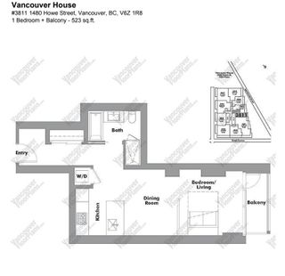 """Photo 2: 3811 1480 HOWE Street in Vancouver: Yaletown Condo for sale in """"VANCOUVER HOUSE BY WESTBANK"""" (Vancouver West)  : MLS®# R2543232"""