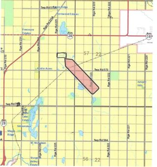 Photo 2: 79.84 AC RR225 north of Twp 572: Rural Sturgeon County Rural Land/Vacant Lot for sale : MLS®# E4238538