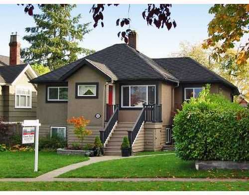 Main Photo: 442 30TH Avenue in Vancouver East: Fraser VE Home for sale ()  : MLS®# V738049