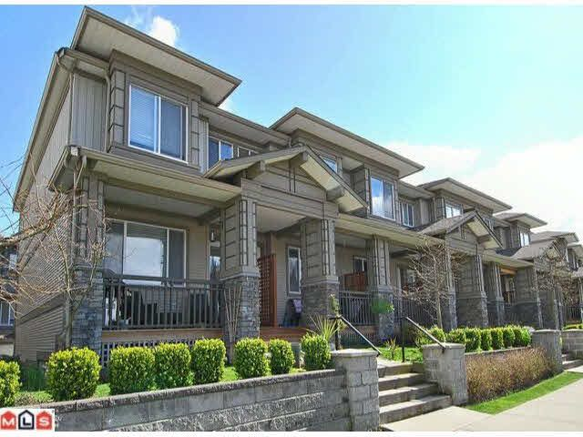Main Photo: 164 18701 66TH AVENUE in : Cloverdale BC Townhouse for sale : MLS®# F1008783
