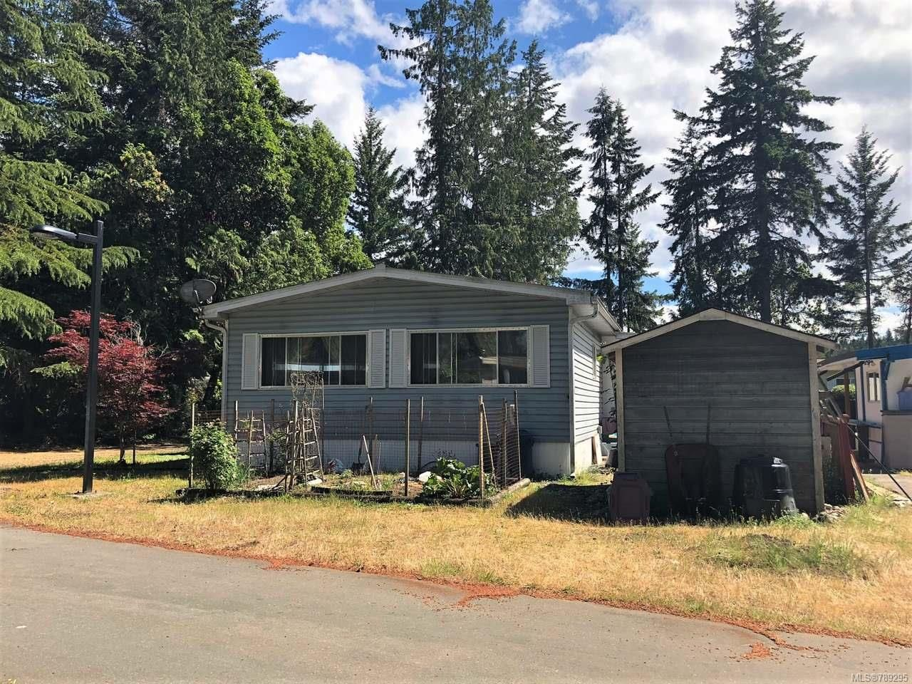 Main Photo: 68 1247 ARBUTUS ROAD in PARKSVILLE: PQ Parksville Manufactured Home for sale (Parksville/Qualicum)  : MLS®# 789295