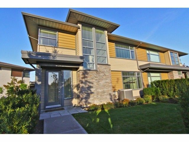 """Main Photo: 20 2603 162ND Street in Surrey: Grandview Surrey Townhouse for sale in """"Vinterra"""" (South Surrey White Rock)  : MLS®# F1324366"""