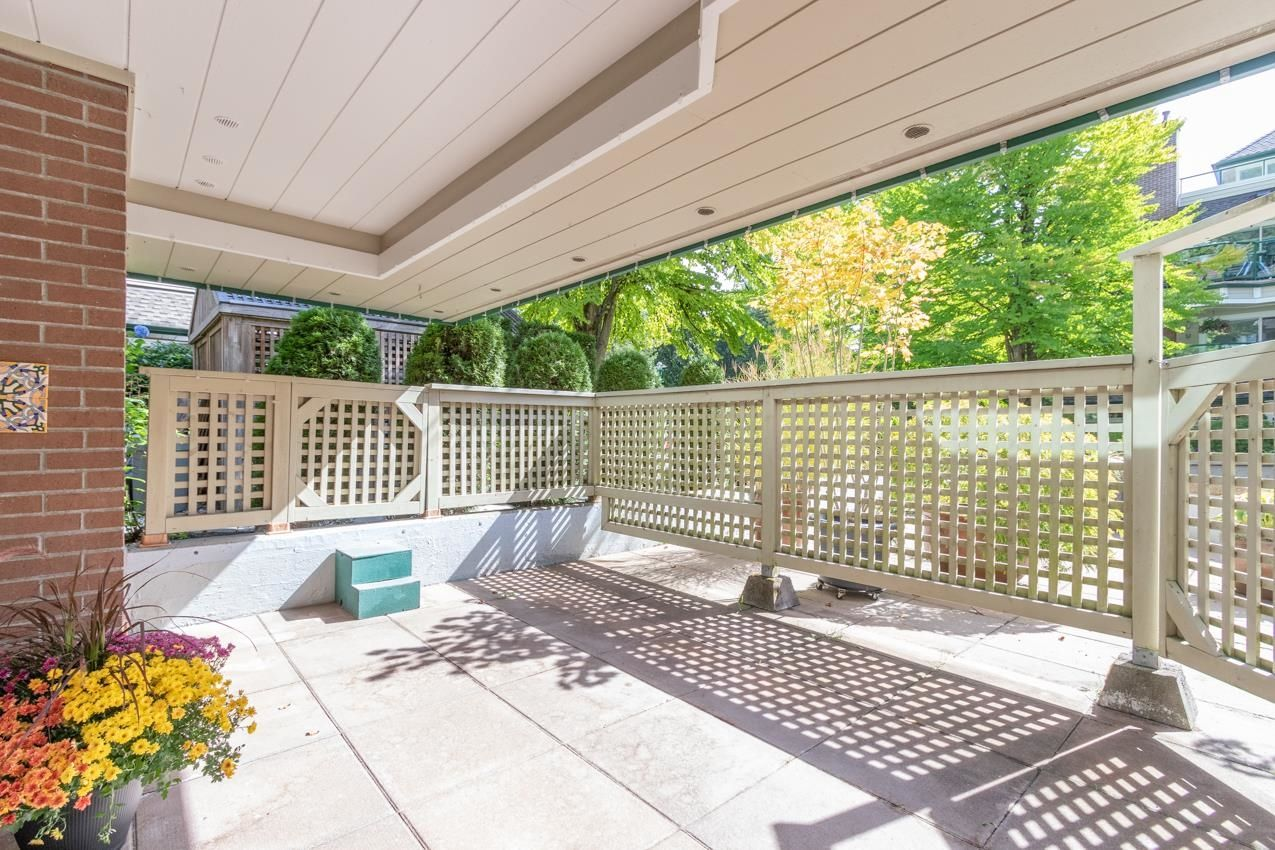 South east exposure provides all day light for the large patio!