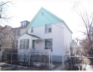Photo 1: 346 BURROWS Avenue in WINNIPEG: North End Residential for sale (North West Winnipeg)  : MLS®# 2905859