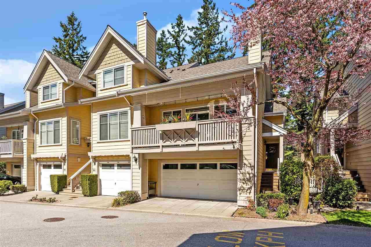 "Main Photo: 63 2588 152 Street in Surrey: King George Corridor Townhouse for sale in ""WOODGROVE"" (South Surrey White Rock)  : MLS®# R2563876"