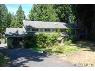 Photo 1: 1060 Llanfair Cres in BRENTWOOD BAY: CS Brentwood Bay House for sale (Central Saanich)  : MLS®# 551642