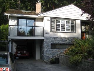 Photo 1: 13083 24TH AV in Surrey: Elgin Chantrell House for sale (South Surrey White Rock)  : MLS®# F1125777