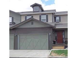Photo 1: 3802 1001 EIGHTH Street NW in : Airdrie Townhouse for sale : MLS®# C3617688